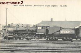 UNION PACIFIC RAILWAY BOGIE EXPRESS TRAIN GARE LOCOMOTIVE ZUG BAHNHOF LOKOMOTIVE STATION ESTACION TRENO - Trains