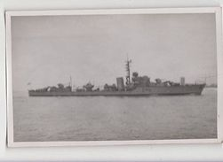 Warship D48 Plain Back Photo Card 027a - Guerre