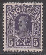 NORWAY  SCOTT NO. 73   USED    YEAR  1911 - Gebraucht