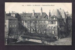 CPA 75 - PARIS - La Maternité - Boulevard Port-Royal - TB PLAN Etablissement De Santé Et Sa Façade - Edition  MARMUSE - Arrondissement: 14
