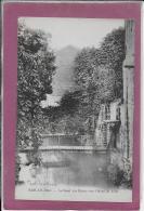 55.- BAR-LE-DUC .- Le Canal Des Usines Vers L' Hôtel De Ville - Bar Le Duc