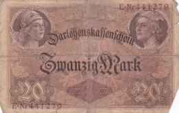 Germany Darlehenskassenschein 1914 - 20 Mark (DD6-12) - [ 2] 1871-1918 : German Empire