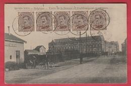 Momignies - Visite De La Douane Et Etablissement Des Frères - 1920 ( Voir Verso ) - Momignies