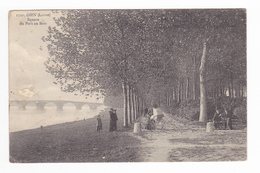 45 Gien N°1720 Square Du Port Au Bois Collection L. Marchand Sully Sur Loire Landau Ancien Voir Description - Gien
