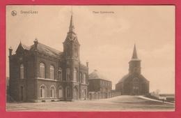 Grand-Leez - Place Communale - 1919 .... Correspondance Britannique ( Voir Verso ) - Gembloux