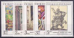 ** Tchécoslovaquie 1979 Mi 2534-8 (Yv 2360-4), (MNH) - Tchécoslovaquie