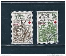 France Timbres De 1978 Croix Rouge   N°2024 Et 2025  Oblitéré - Francia