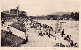 Vernon – Eure – La Plage Au Bord De La Seine - Vernon