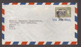 7279- Trinidad And Tobago , Cover To USA   – - Trinité & Tobago (...-1961)