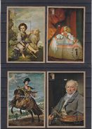 Rwanda - Peintures - Valasquez - Murillo - COB BF 75 / 78 ** - MNH - Surcharge Argent Au Lieu De OR - Tirage 100 Blocs ! - 1970-79: Neufs
