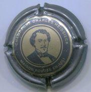 CAPSULE-CHAMPAGNE CHARLES HEIDSIECK N°70d Gris-bleuté & Or Pâle 32mm - Heidsieck, Charles