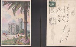 13291) GENOVA PEGLI LUNGOMARE AZIENDA AUTONOMA CLIMATICA BALNEARE VIAGGIATA 1937 - Genova