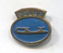 ROLLERSKATES / ROLLSCHUHE - POLAR, Roulettes, Skates / Skating, Germany Factory, Vintage Pin, Badge, Abzeichen - Skating (Figure)
