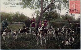 14 CERISY - Chasse à Courre à La Forêt De Cerisy - La Meute - Other Municipalities
