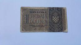 CROAZIA 1 KUNA 1942 - Croatia