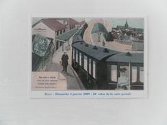 CARTE DE SALON ROYE(SOMME) 26e SALON DE LA CP 04/01/2009 - Cartes Postales