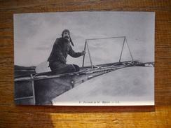 Réédition Cartes D'autrefois , Portrait De M. Louis Blériot - Airmen, Fliers