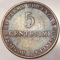 5 CENTESIMI 1830 STATI ITALIANI ITALIAN STATES PARMA MIR 1098 RAME COPPER #3094 - Parma