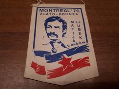 Old Sport Flags - Croatia-Yugoslavia, Matija Ljubek, Montreal 1976, Rowing - Remo