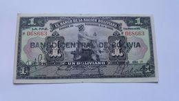 BOLIVIA 1 BOLIVIANO 1911 - Bolivia