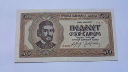 JUGOSLAVIA 50 DINARI 1942 - Yugoslavia