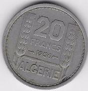 Algérie - 20 Francs 1956 - Algérie