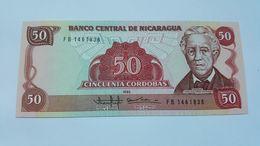 NICARAGUA 50 CORDOBAS 1985 - Nicaragua