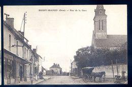 Cpa  Du 61  Boissy Maugis  -- Rue De La Gare   SEP17-16 - Autres Communes