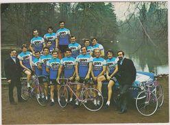 Cyclisme Equipe Gan-mercier Dont Poulidor - Cyclisme
