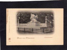 72559    Germania,    Gruss Aus  Dusseldorf,  Kriegerdenkmal,  NV - Duesseldorf