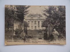 27 GOUPILLERES Villa BOUCLON Restes D'un Château Construit En 1682 Par L'architecte MANSARD Animée - France