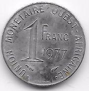 B.C.A. 1 Franc 1977 - Münzen
