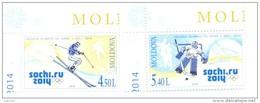 2014. Moldova, Winter Olympic Games Sochi, Set, Mint/** - Moldavie