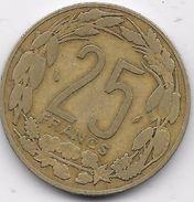 B.C.A. 25 Francs 1975 - Monnaies