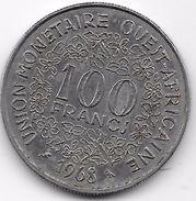 B.C.A. 100 Francs 1968 - Monnaies