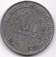 B.C.A. 100 Francs 1968 - Münzen