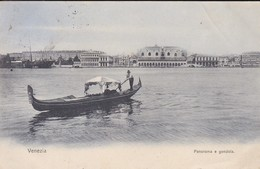 ITALIE----VENEZIA---panorama E Gondola--voir 2 Scans - Venezia (Venice)