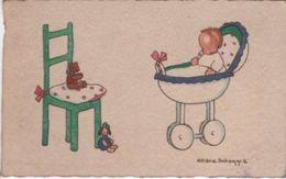 Faire-part De Naissance/ Petit Bristol/ Héléna Scheqqia/ Vers 1930             FPN4 - Birth & Baptism