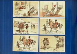 6 CP POULBOT, Neuves Scans Recto-verso. Parfait état. Lot N°1 - 5 - 99 Cartoline