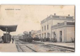 CPA 16 Barbezieux La Gare Et Le Train - France