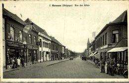 Mouscron - Herseaux - Carte-Photo - Rue Des Alliés - Mouscron - Möskrön