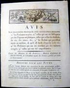 MEDECINE PNEUMOLOGIE SECOURS AUX NOYES AVIS POUR SECOURIR LES NOYES  ENRAGES EMPOISONNES ENFANTS MORTS NES PORTAL 1787 - France