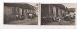 Automobile T.H.P. Henri Precloux. Modele RARE. 2 Cartes Photos. - PKW