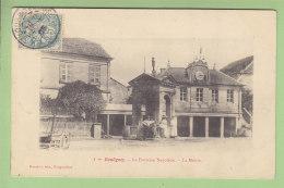 BOULIGNEY : La Fontaine Napoléon, La Mairie. 2 Scans. Edition Reuchet - France