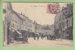 JUSSEY : Grande Rue. 2 Scans. Edition Reuchet - France