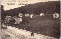 25 MALBUISSON - Les Villas Vues Du Grand Balcon De L'Hôtel Du Lac - Other Municipalities