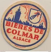 1 Sous-Bock Ancien Bière De Colmar - Alsace - Sous-bocks
