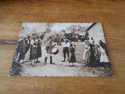 3096 - CPSM ,  En Bresse Autrefois , Monsiuer Le Maire Fait Assavoir - France