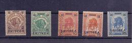 ERITREA Serie Elefanti 5 Valori   018 - Eritrea