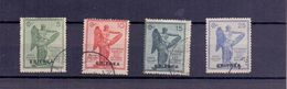 ERITREA  1922 Anniversario Della Vittora Serie Completa   Usata  018 - Eritrea
